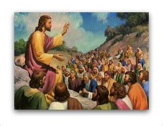 Jesus Teaching the Multitude